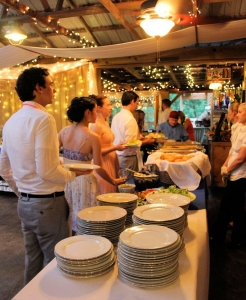 Catering Wedding at Khimaira Farm