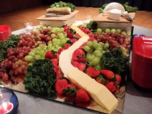 Fruit and Chees tray