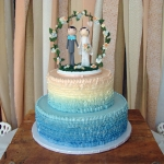 Wedding Cake by Main Street Bakery & Catering Luray VA