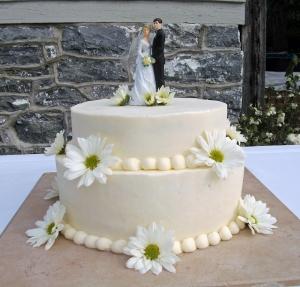 Wedding Cake by Main Street Bakery & Catering Luray, VA