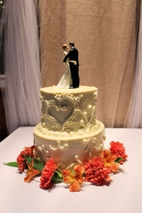 Wedding Cake by Main Street Bakery & Catering Luray, VA